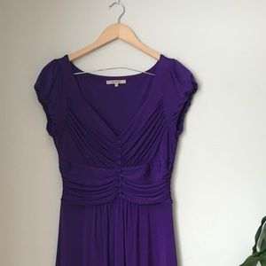 RW&CO - Corseted purple dress